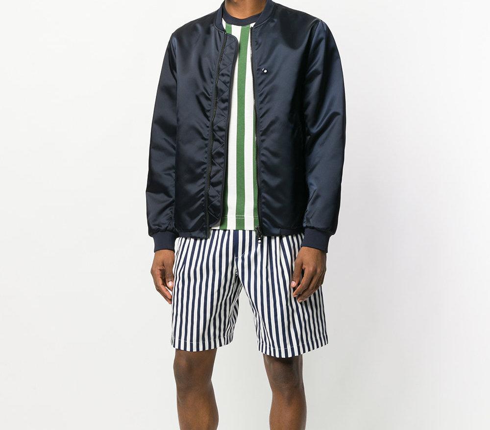 SUNNEI striped shorts
