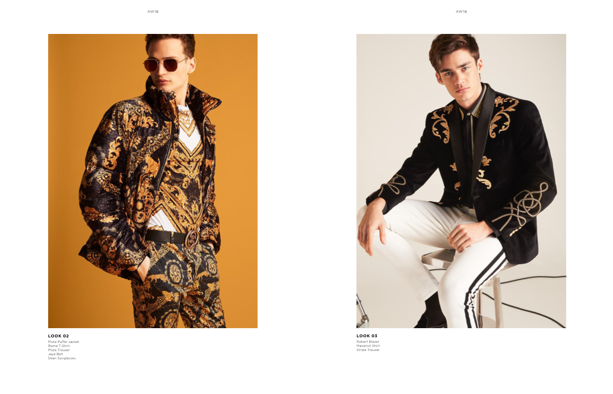 River Island AW18 Lookbook