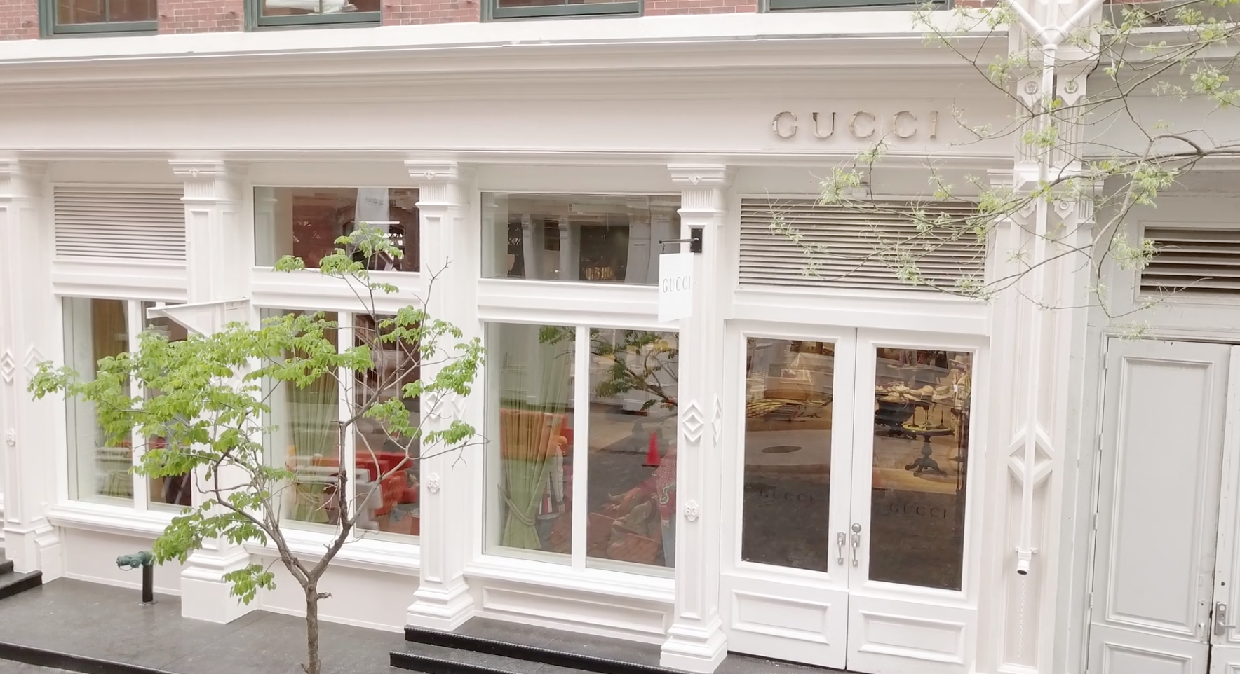 Experience Gucci's Luxurious New SoHo Store