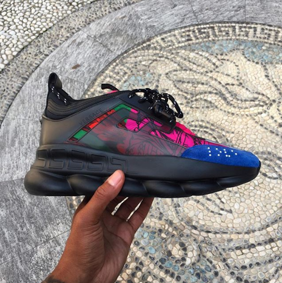 A Close Look At Versace's New Chainreaction Sneaker