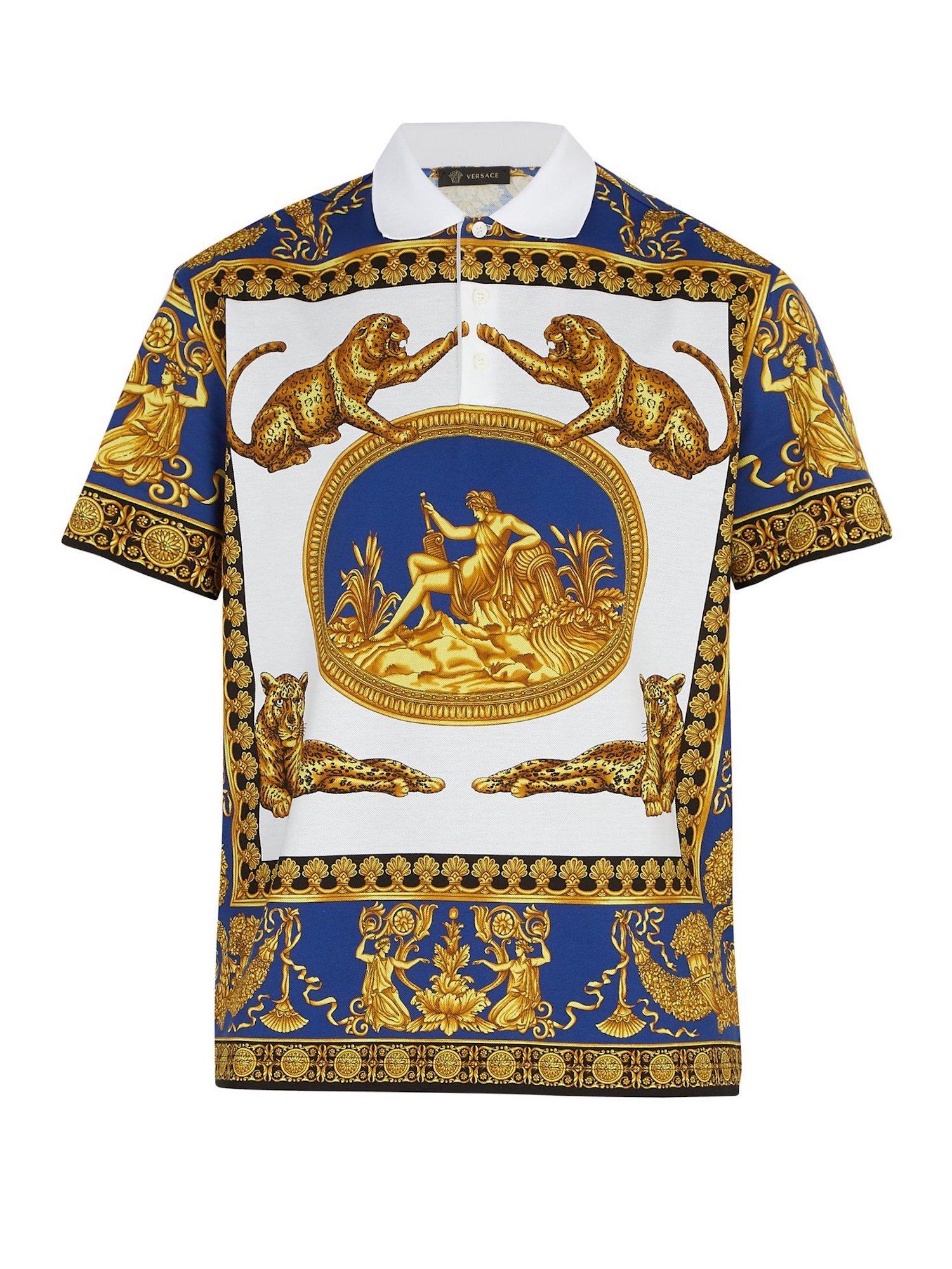 Versace Leopard Shirt
