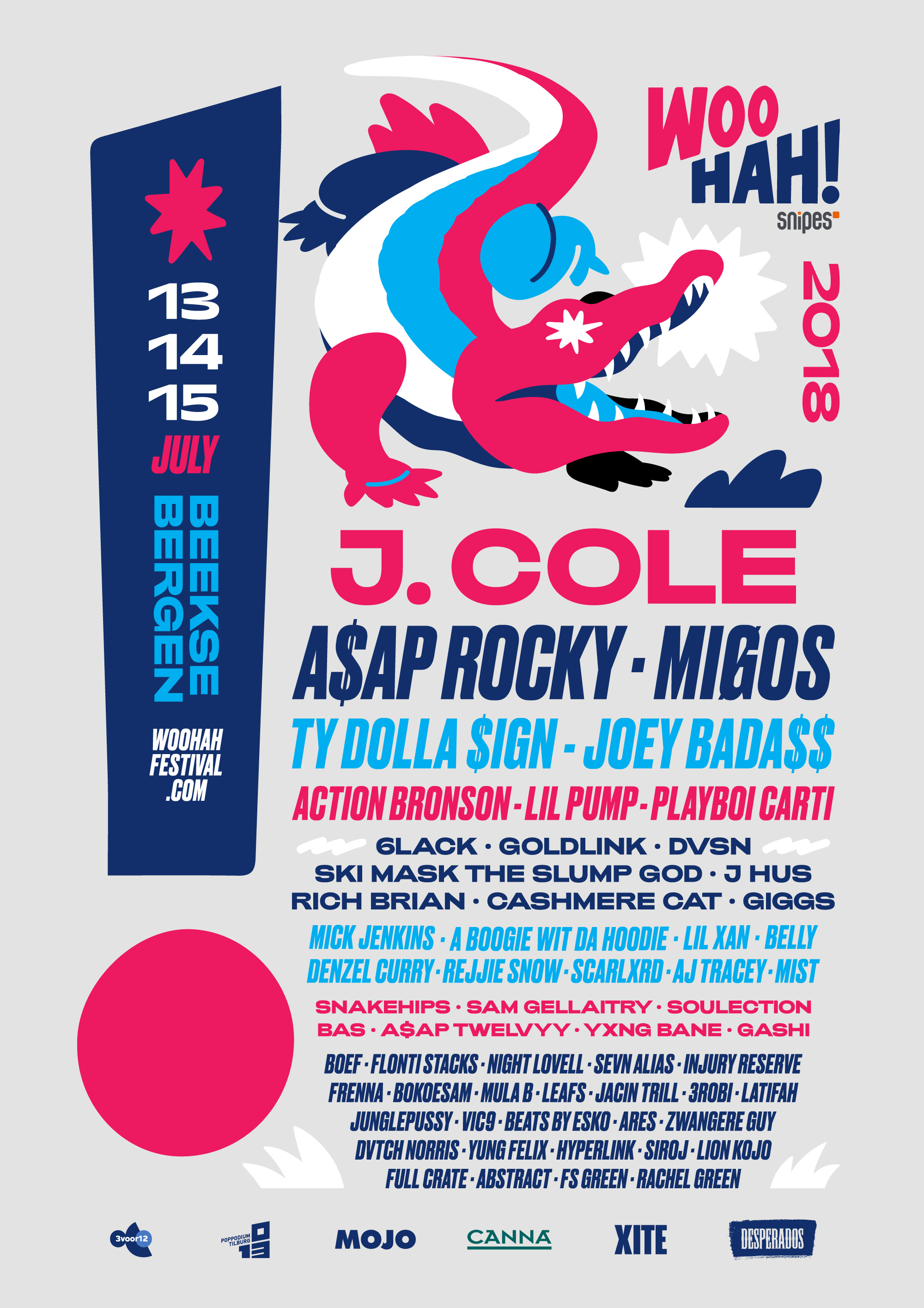 Ty Dolla $ign, Playboi Carti & More Added to WOO HAH! 2018 Lineup