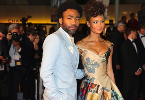 SPOTTED: Donald Glover wears Powder Blue Gucci Tuxedo