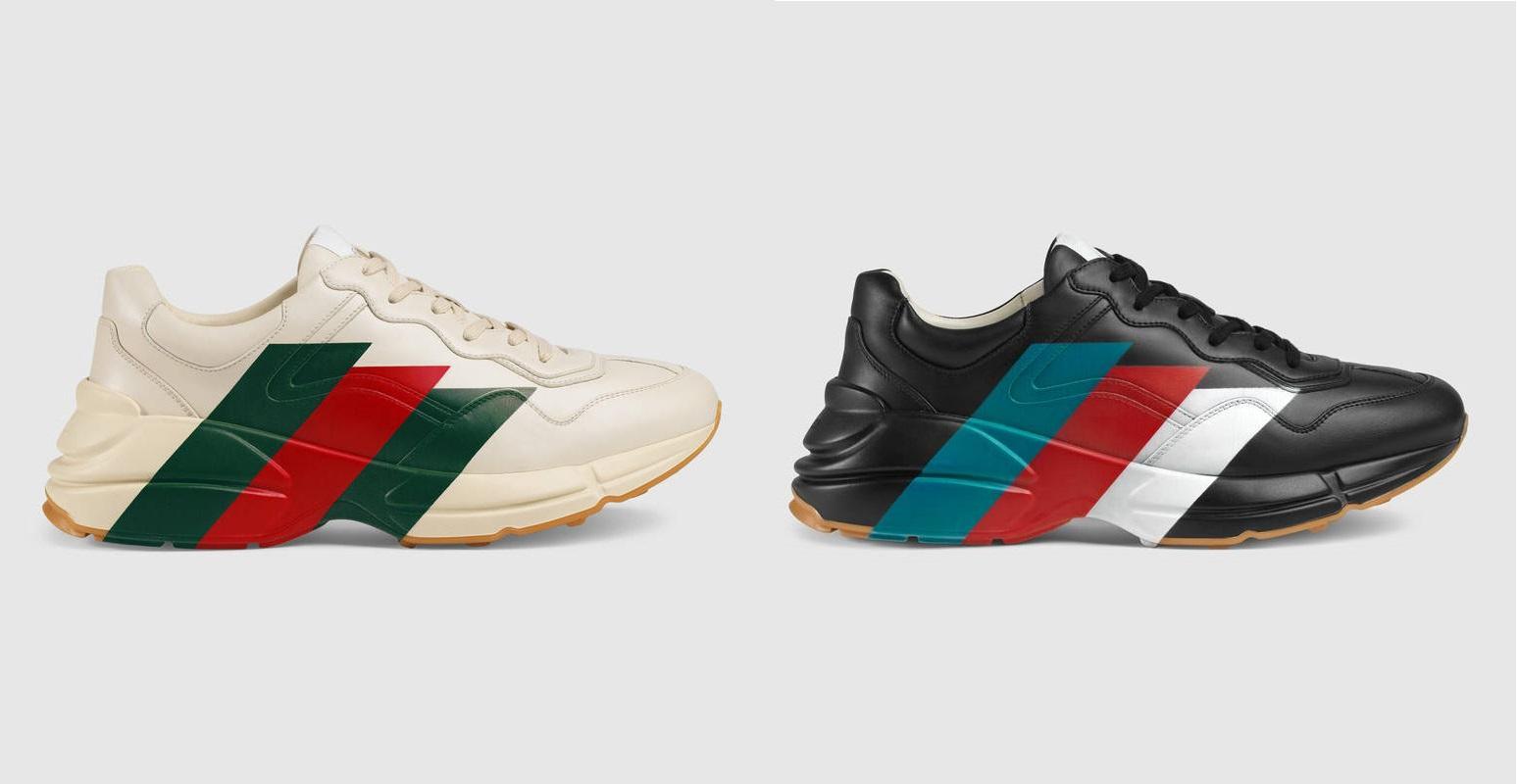 Gucci Drops New Athletic 'Rhyton' Sneaker