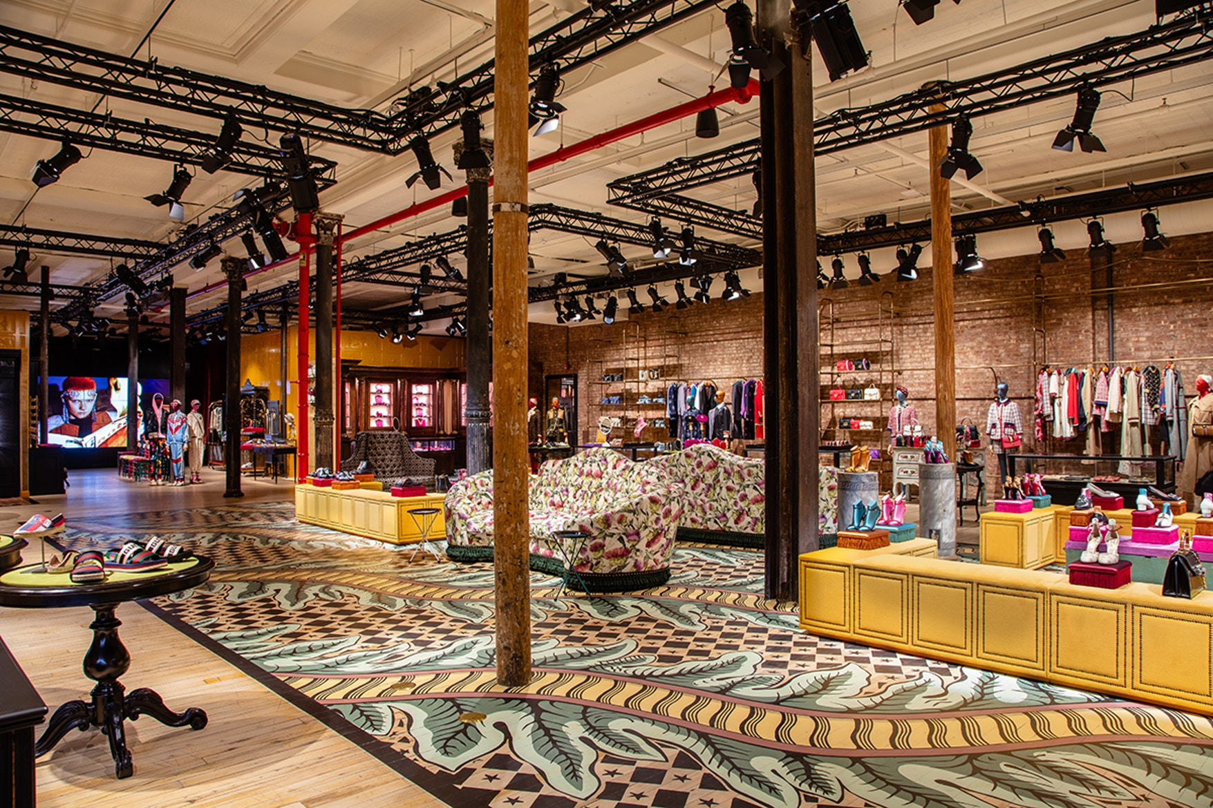 Gucci's Store Opening Takes Over NYC's SoHo District