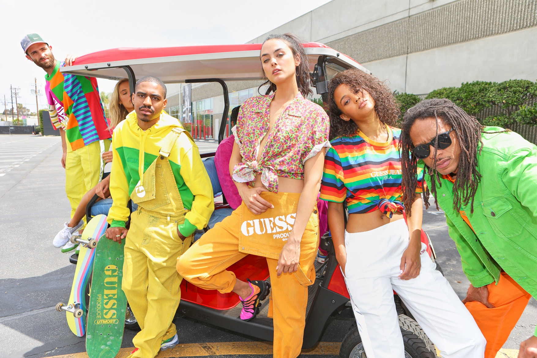 The Full Lookbook: Sean Wotherspoon x GUESS Jeans U.S.A Collaboration