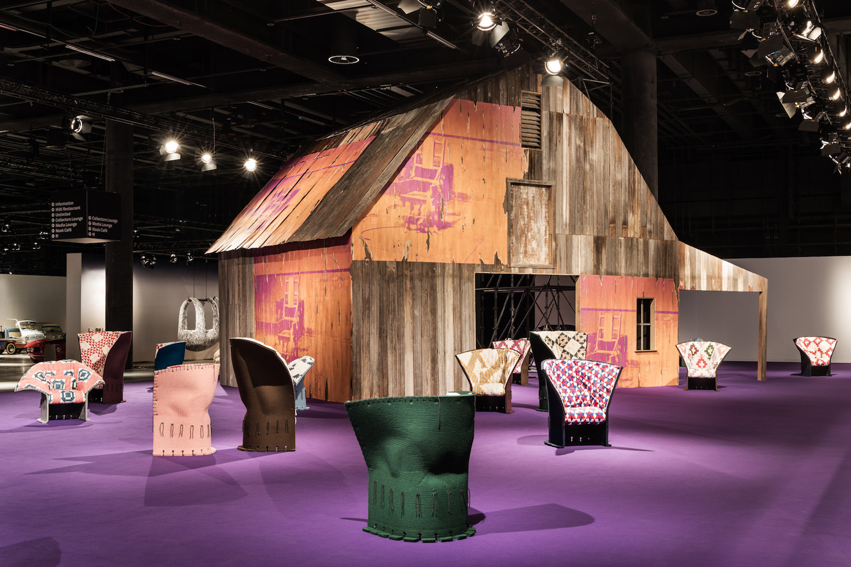 Calvin Klein's Debut 'Design Miami' Installation by Raf Simons