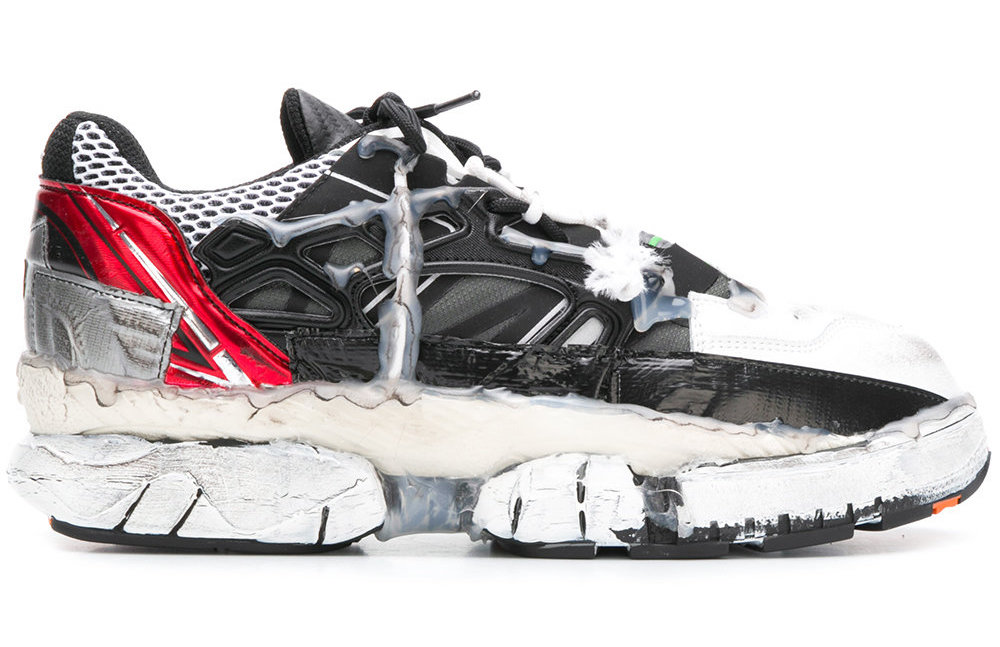 Maison Margiela Drops Extremely Distressed Fusion Sneaker From AW18 Collection