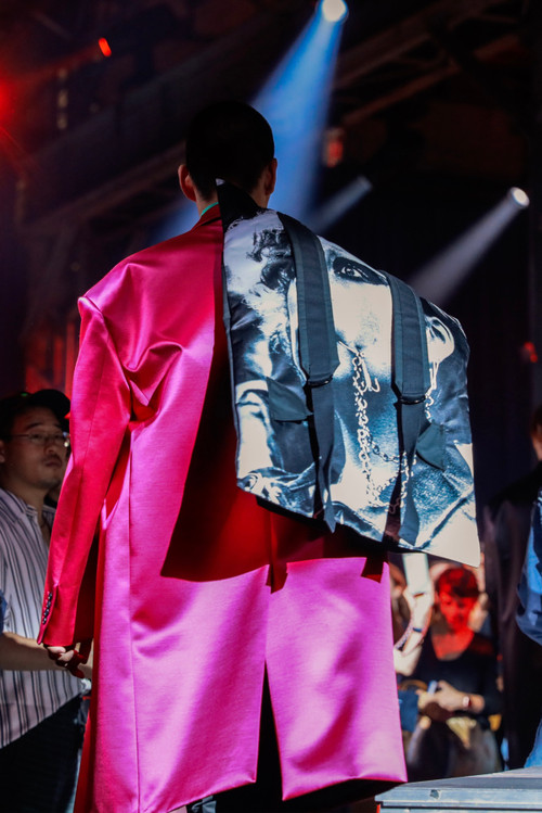 Eastpak and Raf Simons' SS19 Collaboration Previewed at Paris Fashion Week