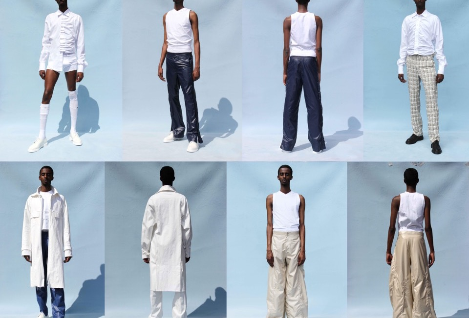"""Exploring Black Masculinity, A Look At Bianca Saunders """"Gestures"""" Collection"""