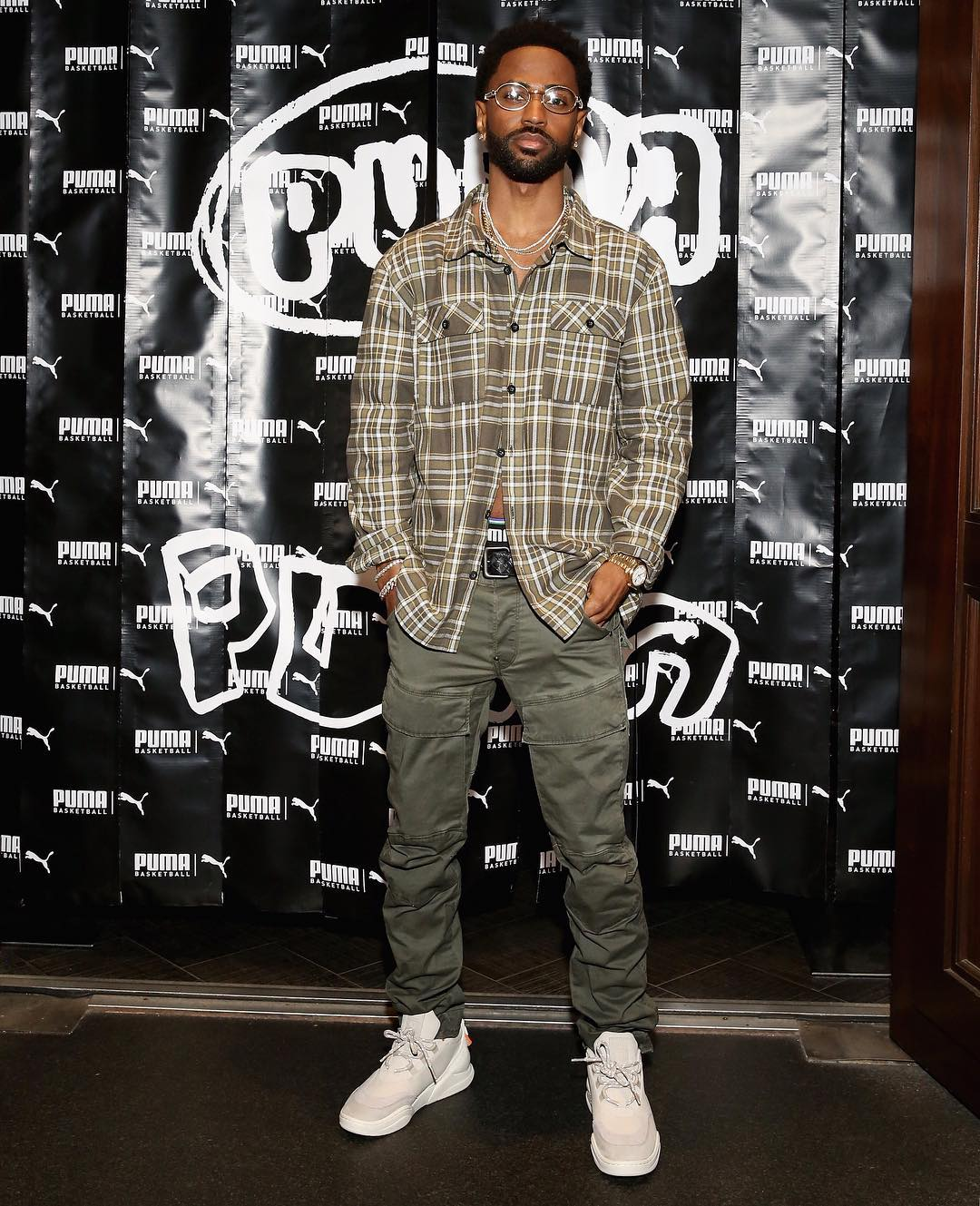 SPOTTED: Big Sean Rocks Modest Fit for Puma Basketball Launch Party