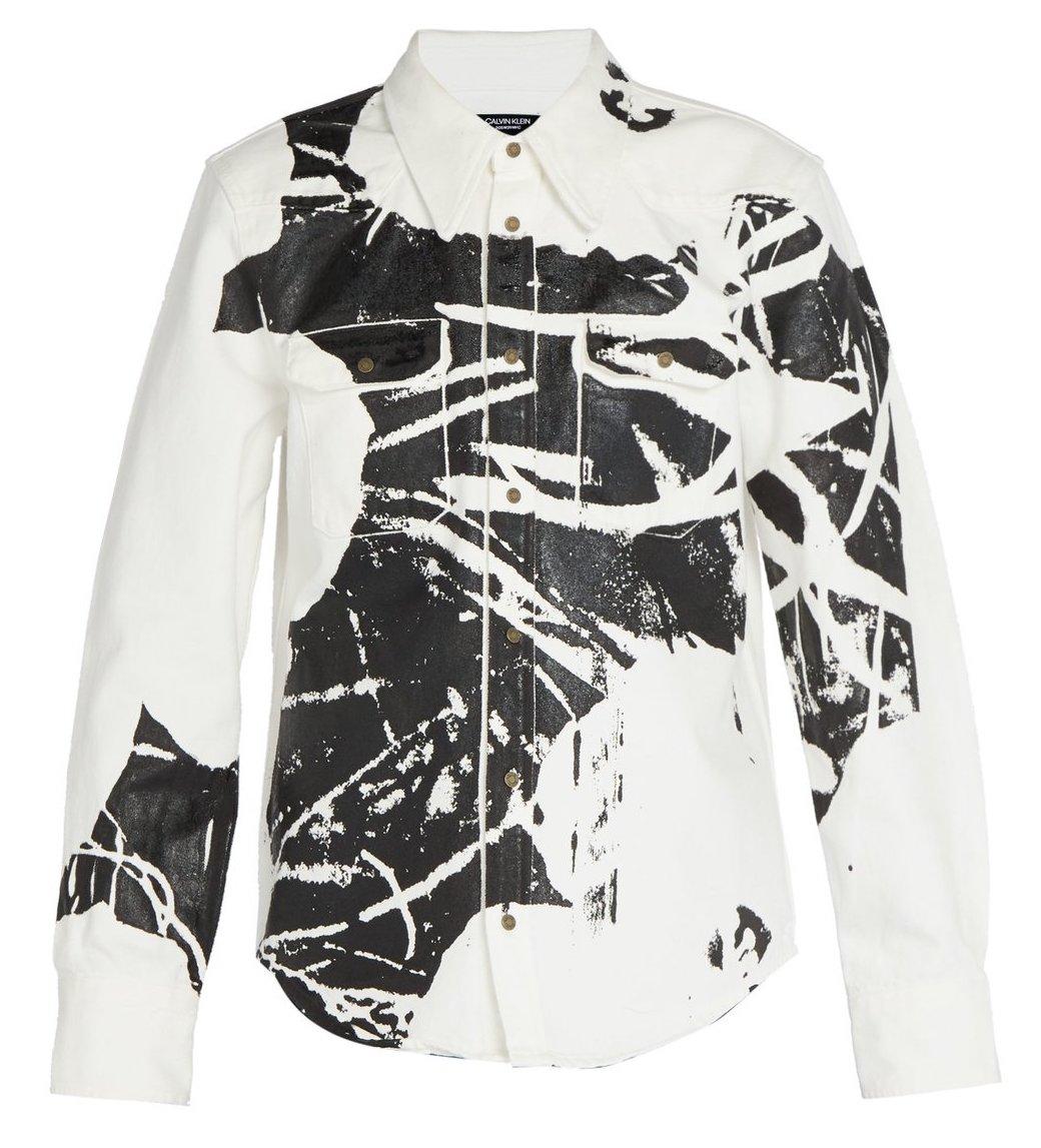 Calvin Klein 1964 Flower Print Jacket