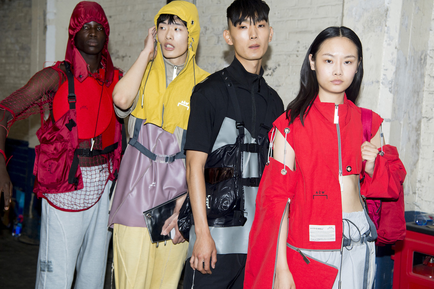 Backstage: A-Cold-Wall SS19 @ LFWM