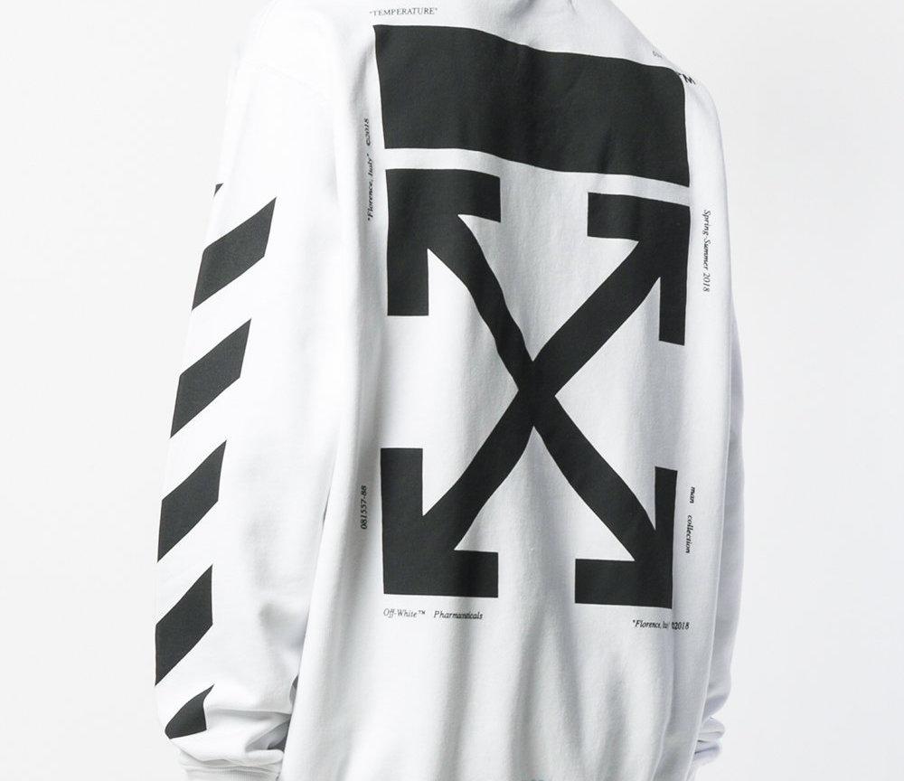 """Diet Prada Investigates Off-White's """"Crossed Arrows"""" Logo Origins"""