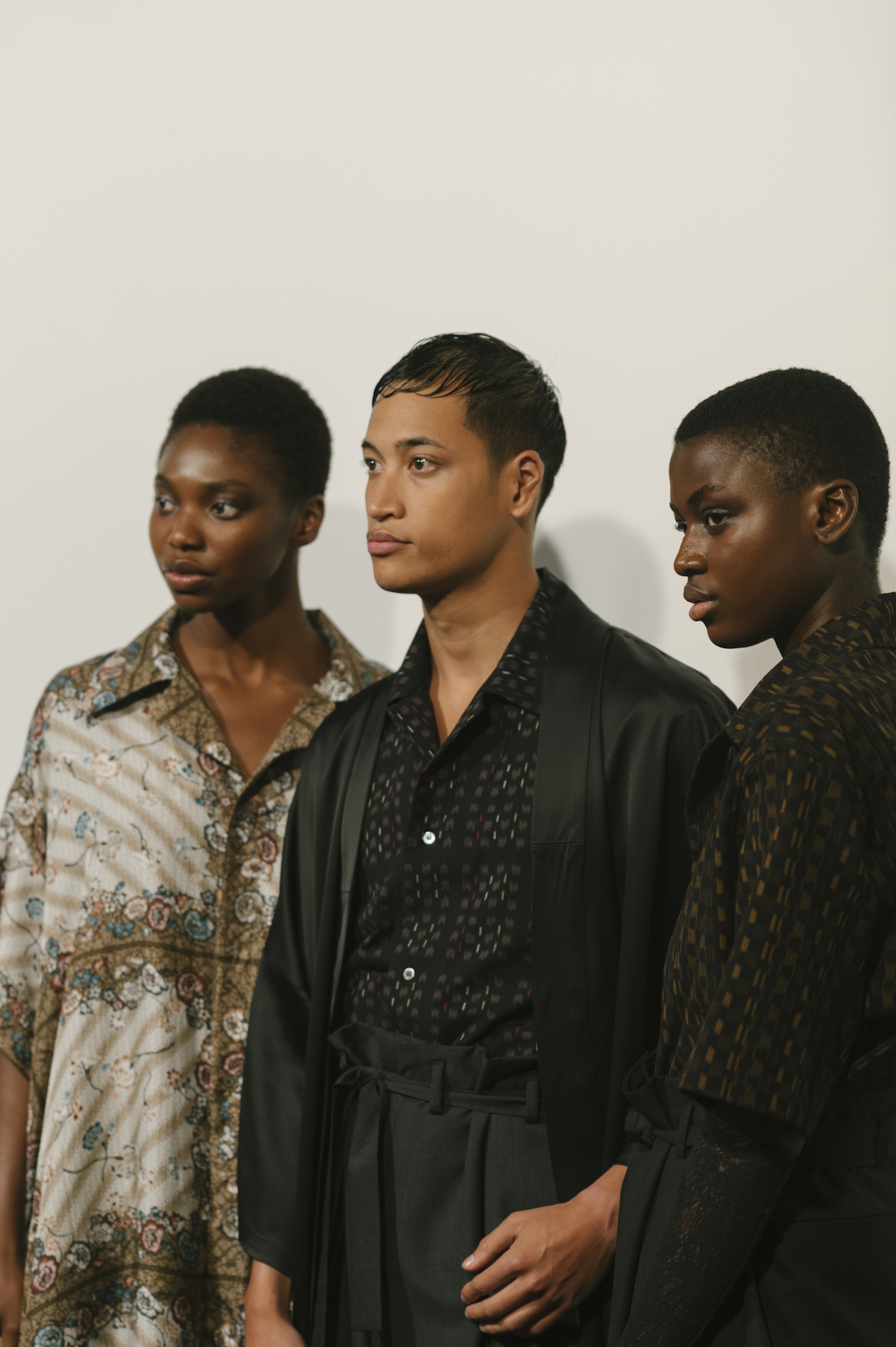 Backstage: Edward Crutchley SS19 @ LFWM