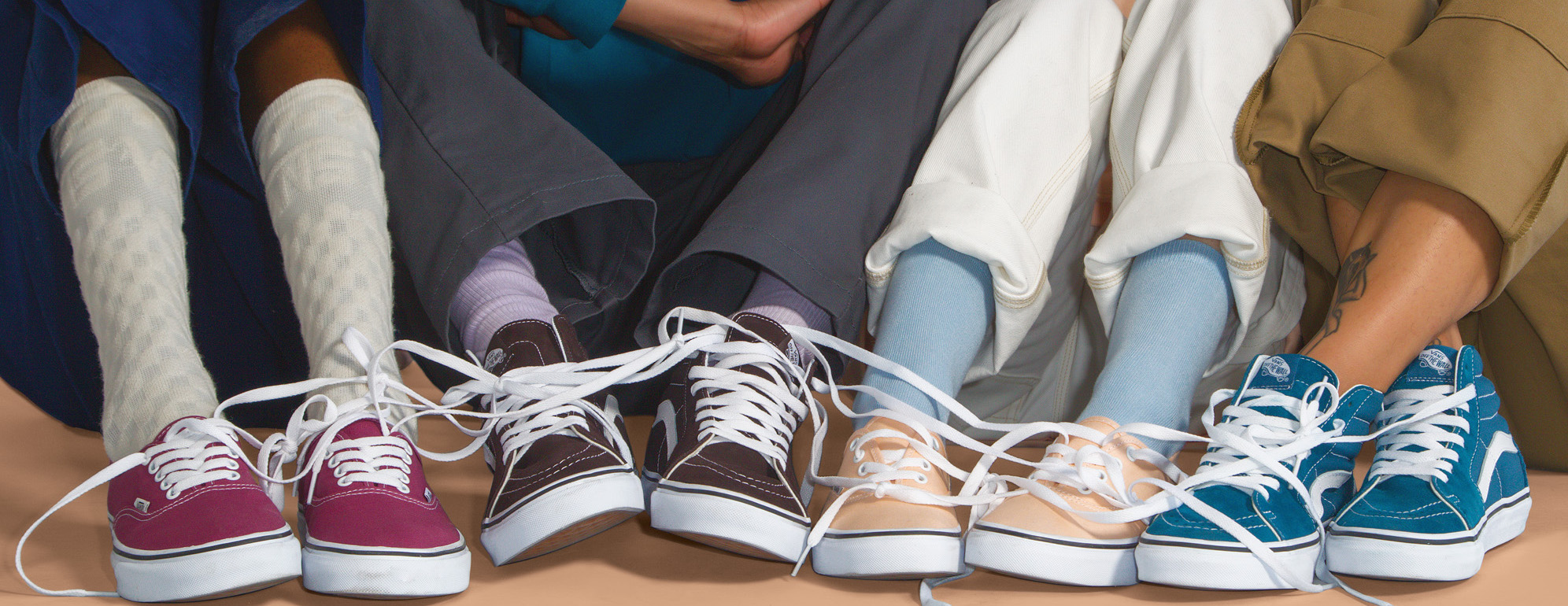 Vans Introduces The Color Theory Collection