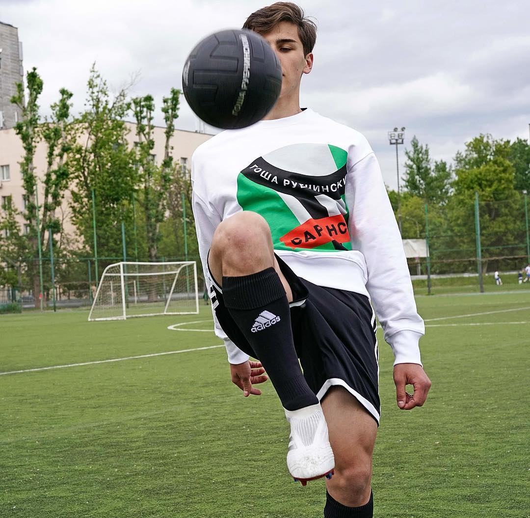 Gosha Rubchinskiy Gives Us a Sneak Peek at Upcoming adidas Football Collaboration