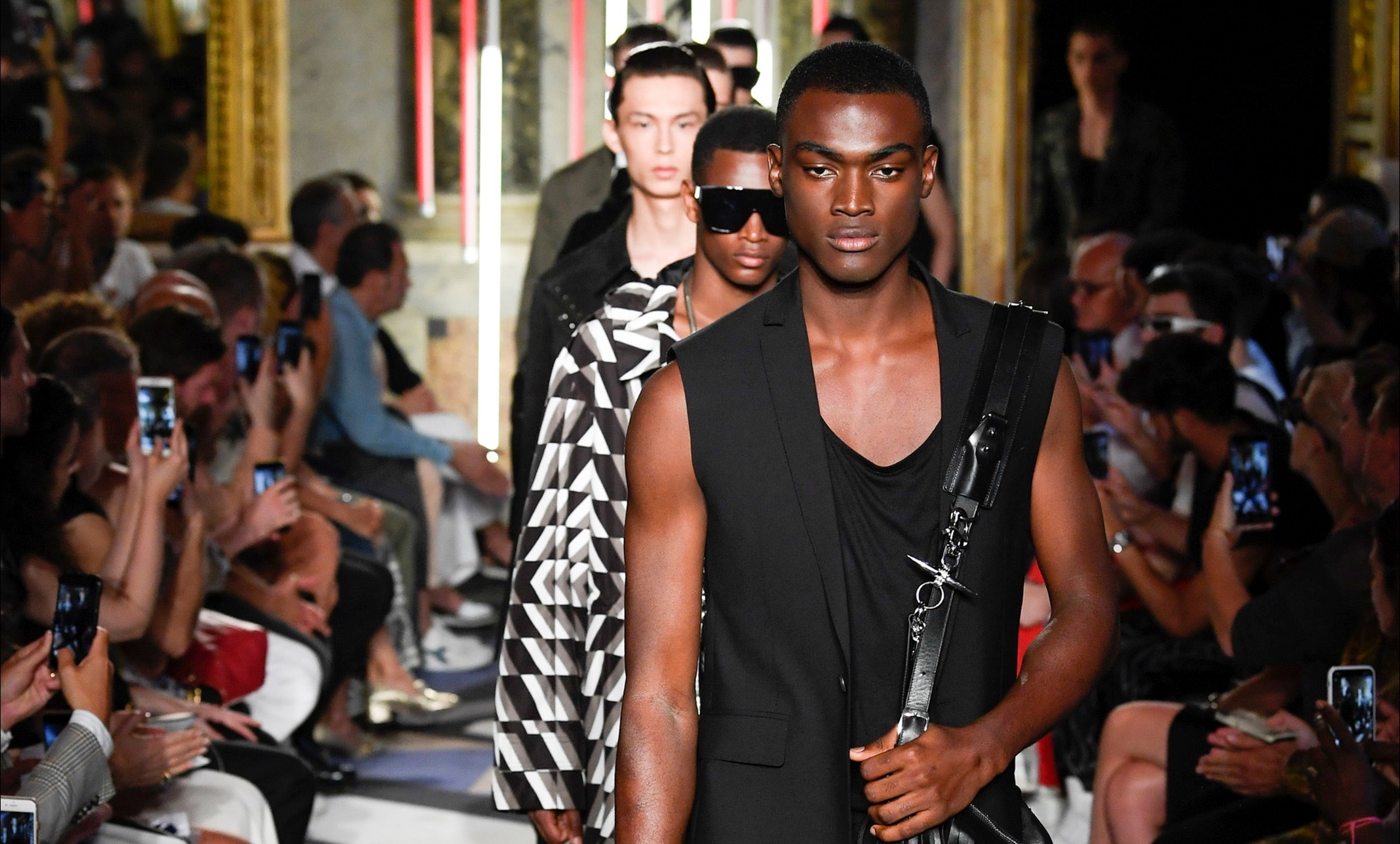 MFW: Les Hommes Spring/Summer 2019 Collection