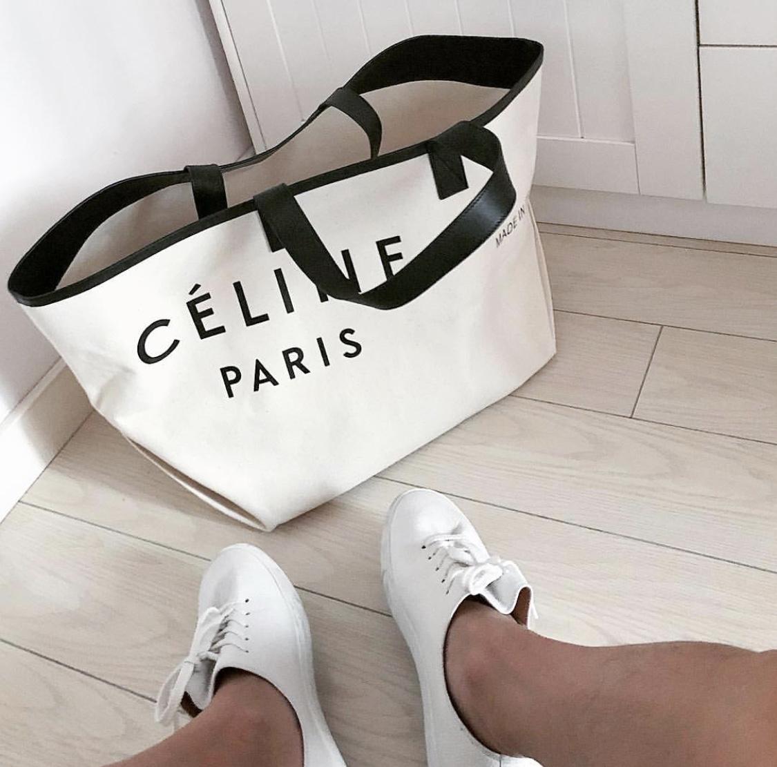 Everyone Going Crazy For The Céline Paris Tote Bag