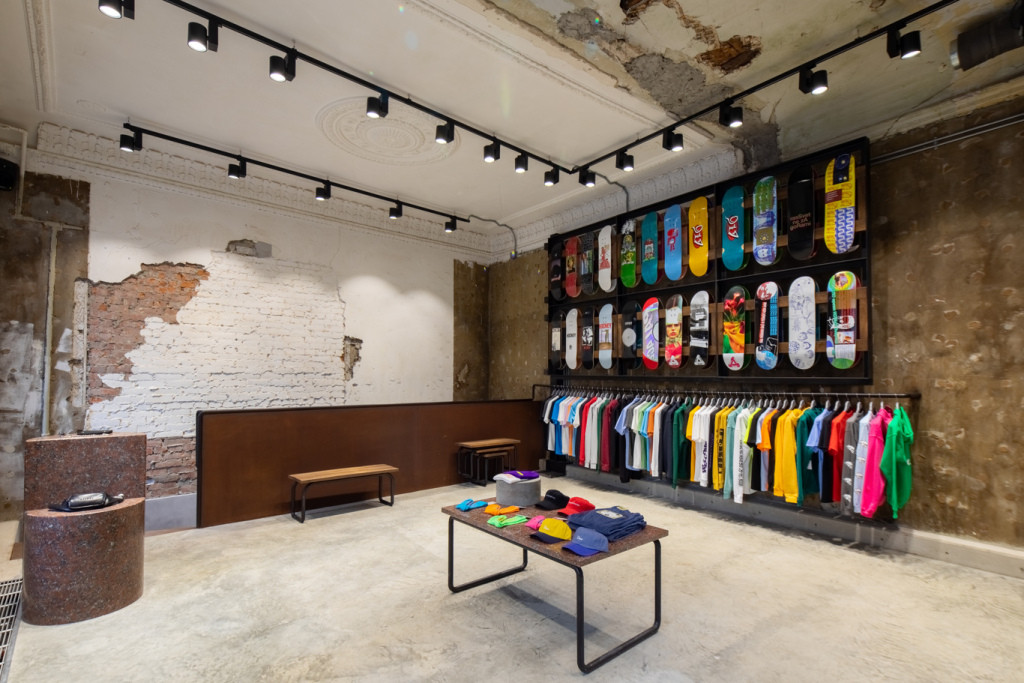Check out Gosha Rubchinskiy's Moscow OKTYABR Store