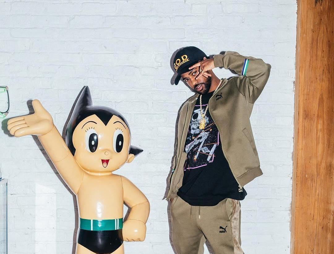 SPOTTED: Big Sean Styled in Puma, Starwars, Chanel & Zeno Mania