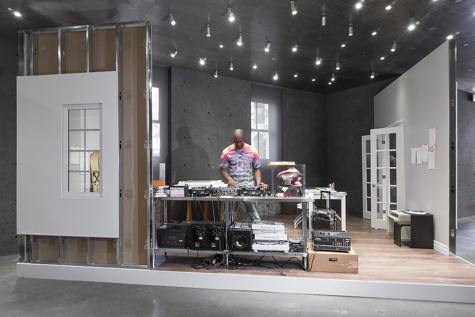 """Virgil Abloh and SSENSE Team up for """"CUTTING ROOM FLOOR"""" Exhibit"""