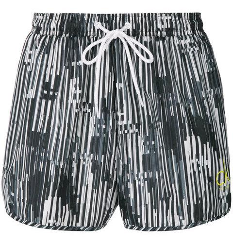 CALVIN KLEIN JEANS print drawstring swim shorts