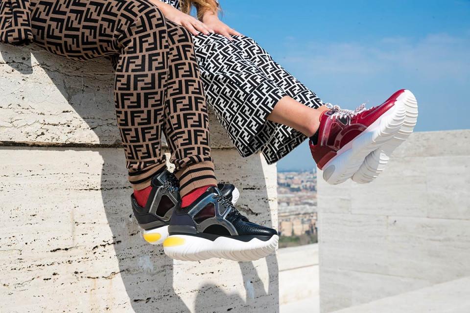 FENDI Release Campaign Video For the 'Fancy' Sneaker Silhouette