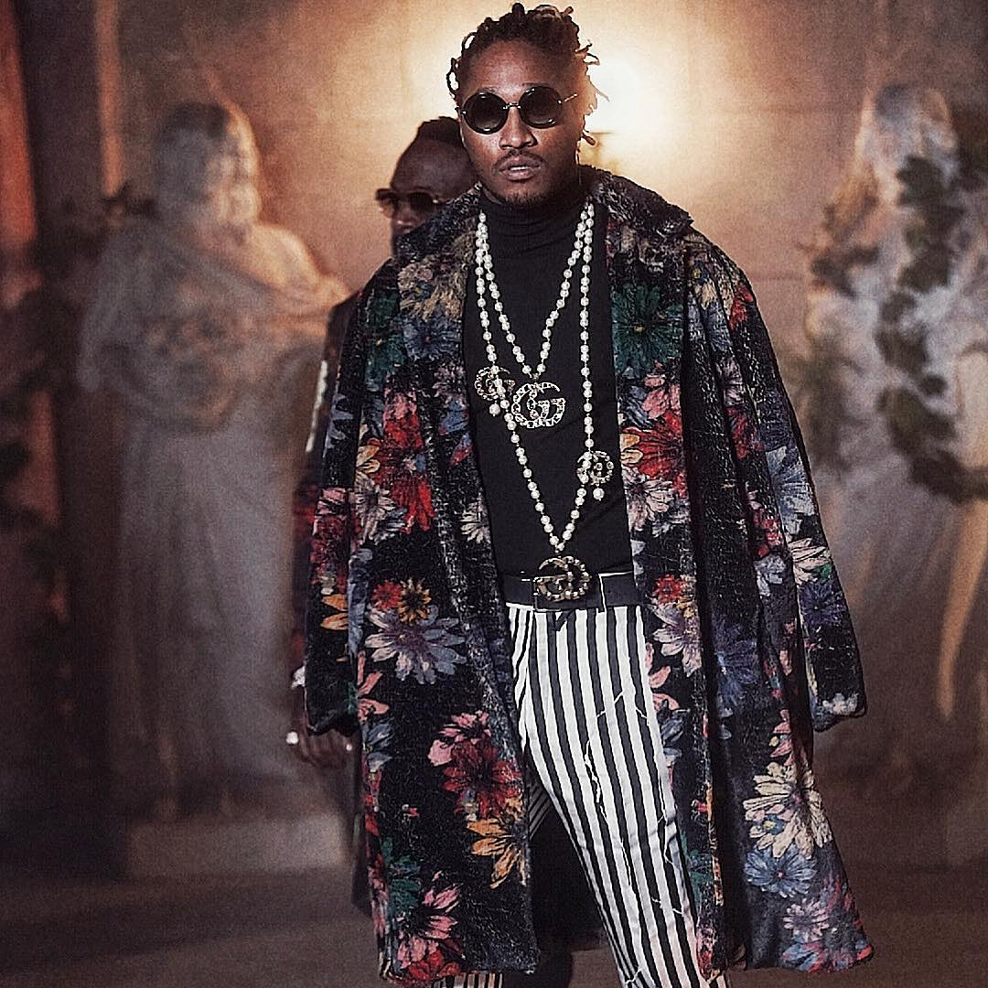SPOTTED: Future Tying Together Haider Ackermann, Death to Tennis and Gucci
