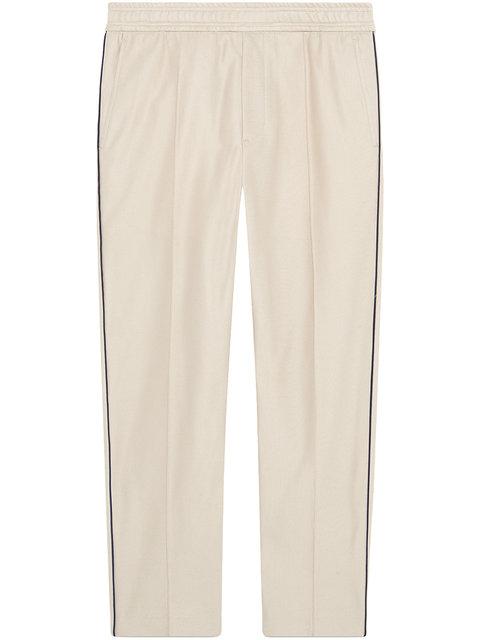 GUCCI Cotton piquet jogging pant