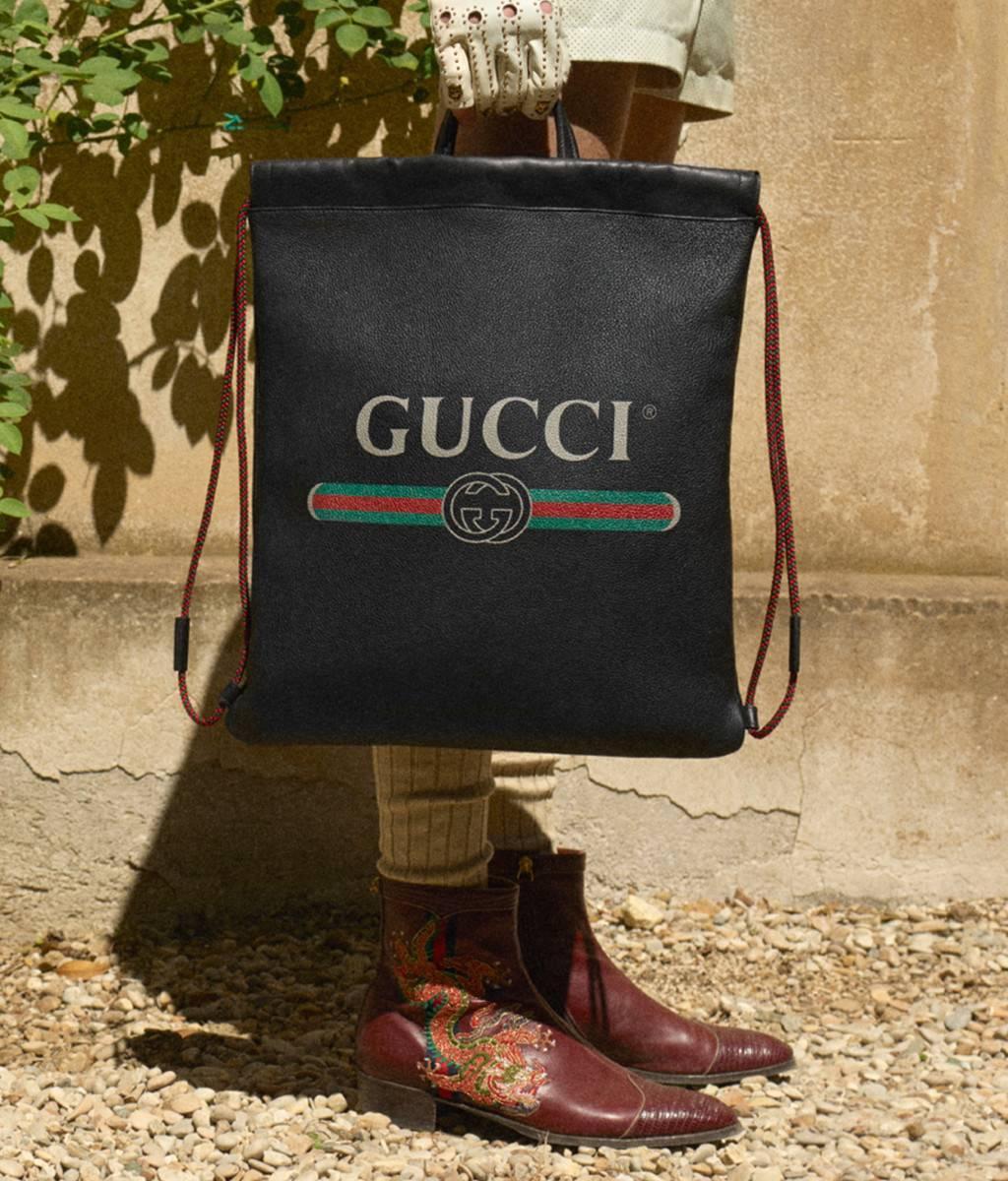 Gucci Vintage Print