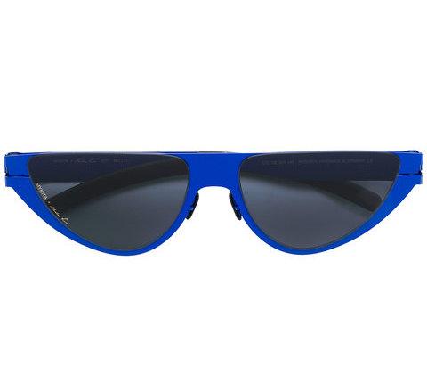 MARTINE ROSE cat eye frame sunglasses