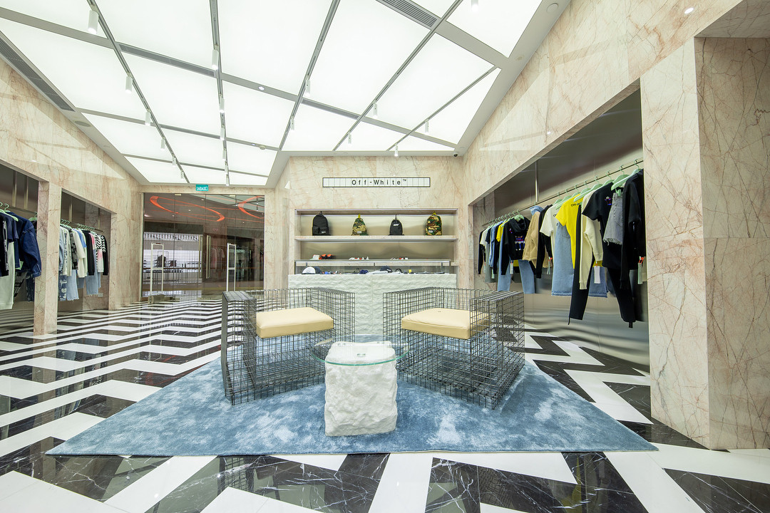 A Look Inside The OFF-WHITE Macao Store