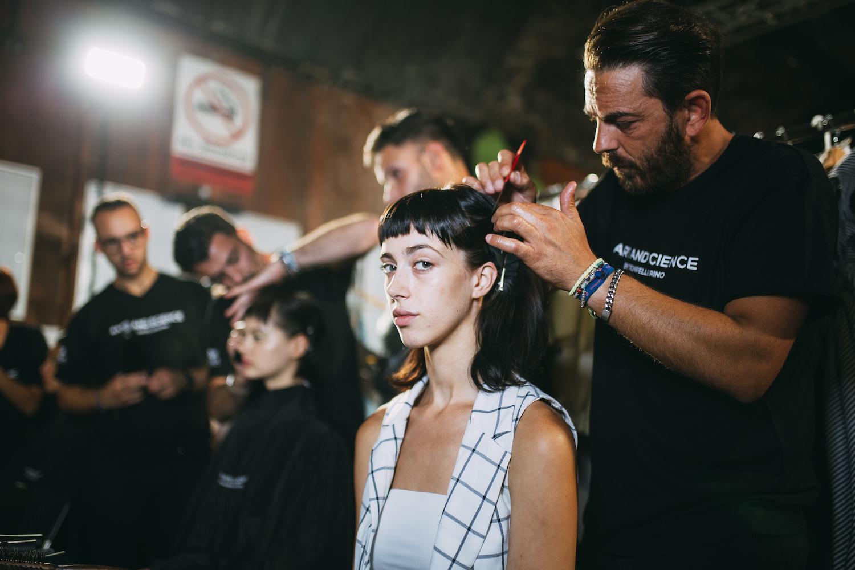 Backstage @ The Istituto Marangoni 2018 Graduate Show