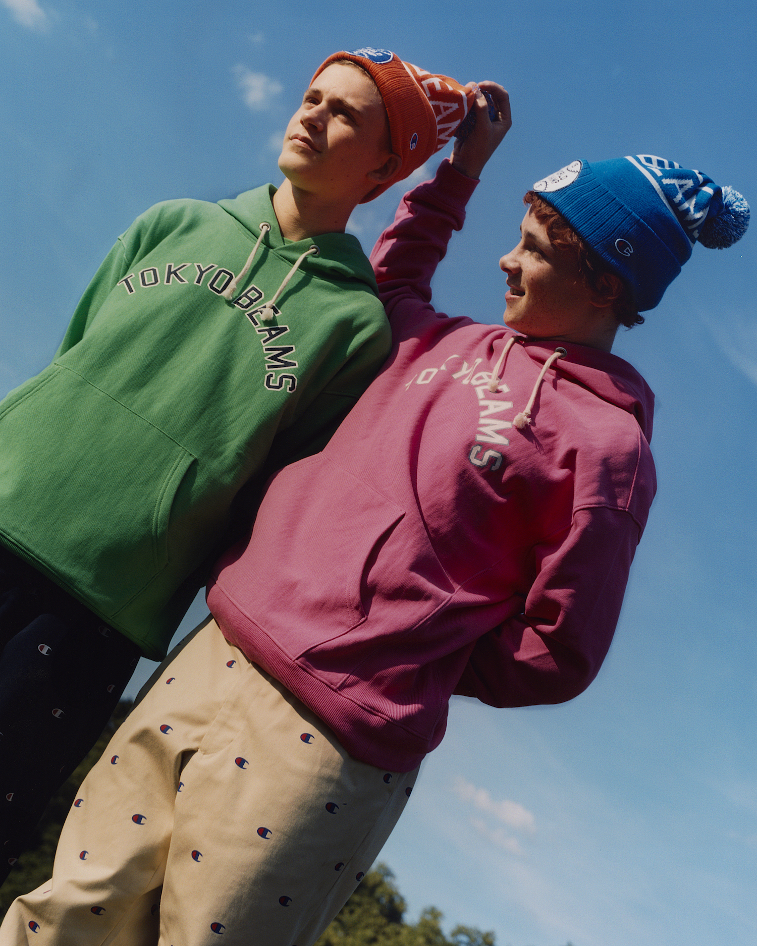 Champion x BEAMS collection