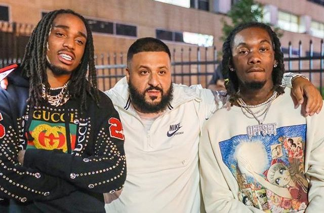 SPOTTED: Migos & DJ Khaled Attend On The Run II Tour Draped in Gucci & Nike