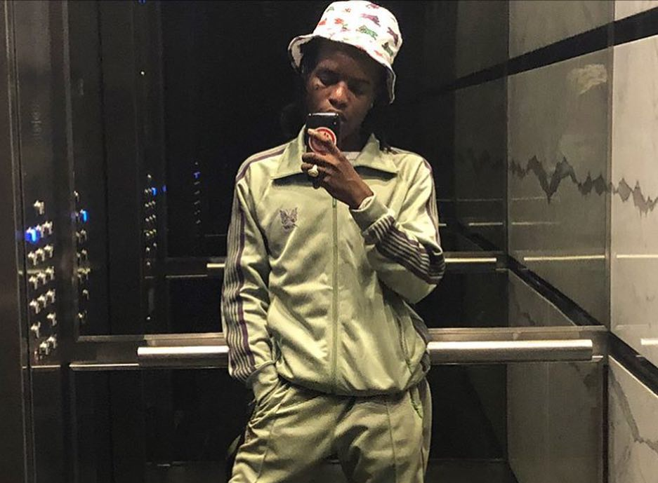 SPOTTED: Ian Connor Teases YEEZY Wave Runner 700 in Olive Needles Tracksuit