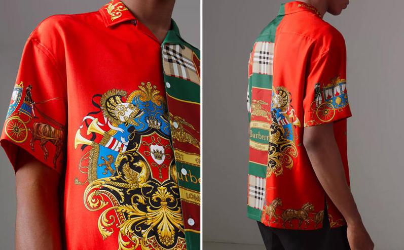 Burberry Brings Back Achieved Silk Shirt Design