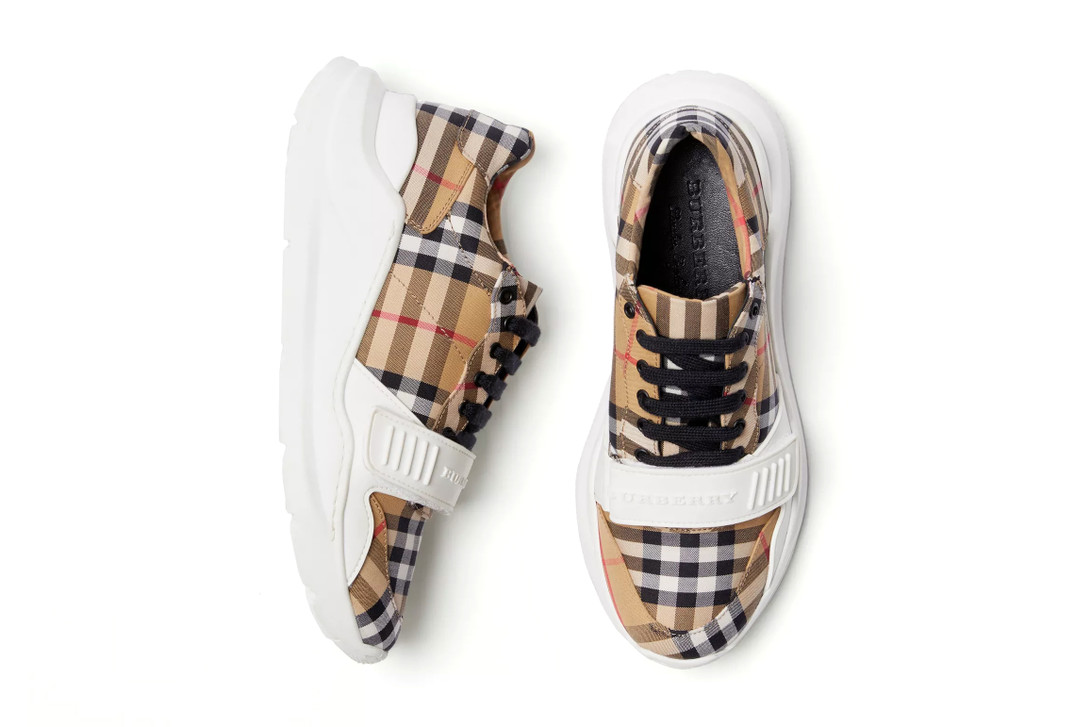 """PAUSE or Skip: Burberry """"Vintage Check"""" Sneaker"""