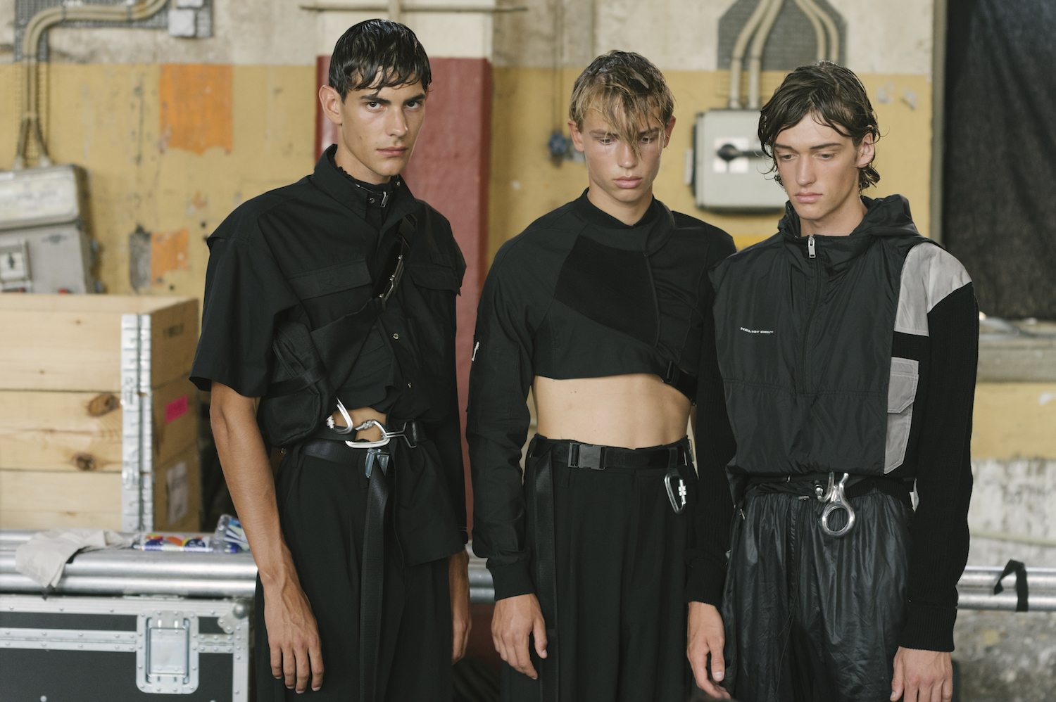 CPHFW: Backstage at HELIOT EMIL SS19 Show