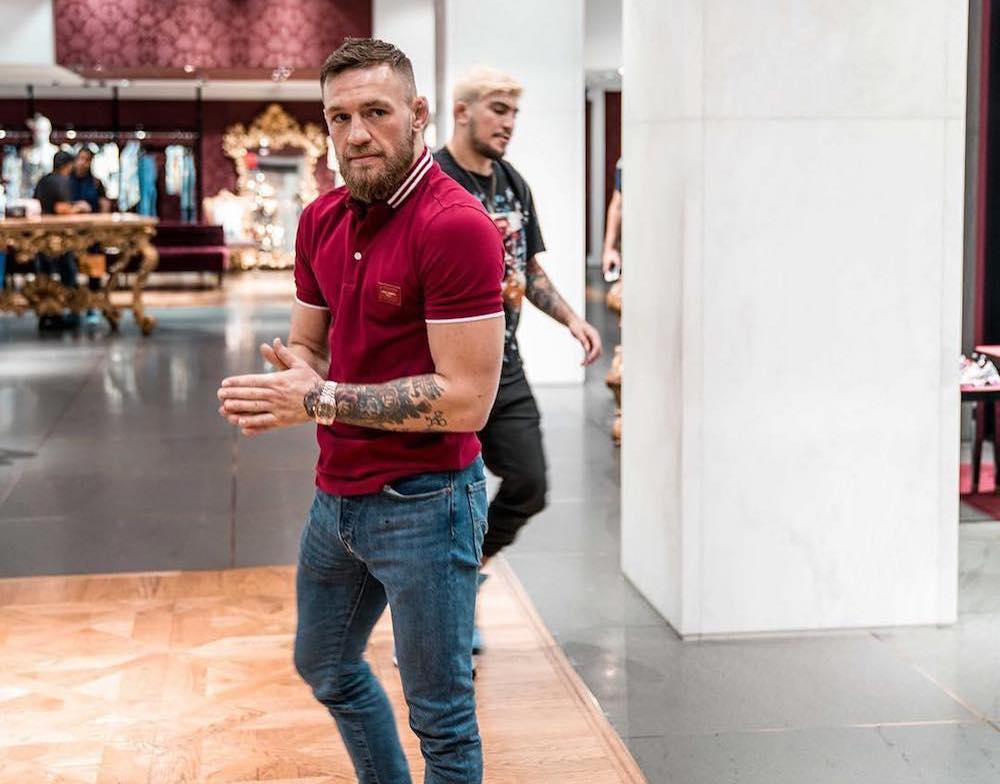 SPOTTED: Conor McGregor in a Dolce & Gabbana Ensemble