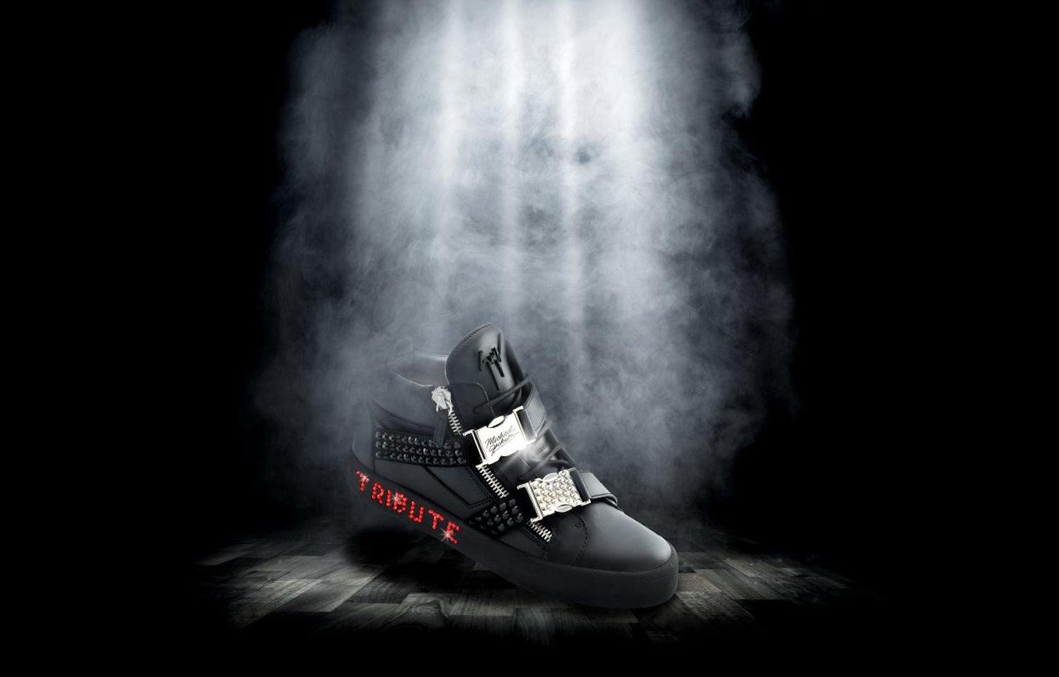 Giuseppe Zanotti To Launch Limited Edition Michael Jackson Trainer Collection
