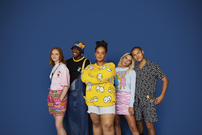 ASOS Design Unveil Simpsons Collection