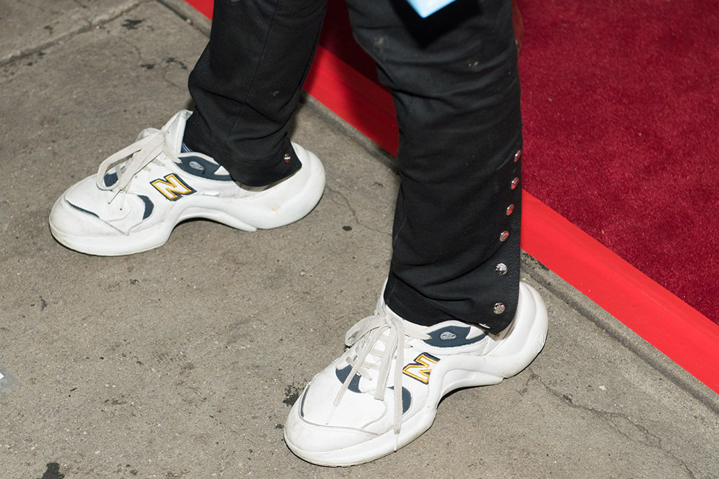 Jaden Smith Rocks Custom Louis Vuitton x New Balance Sneakers