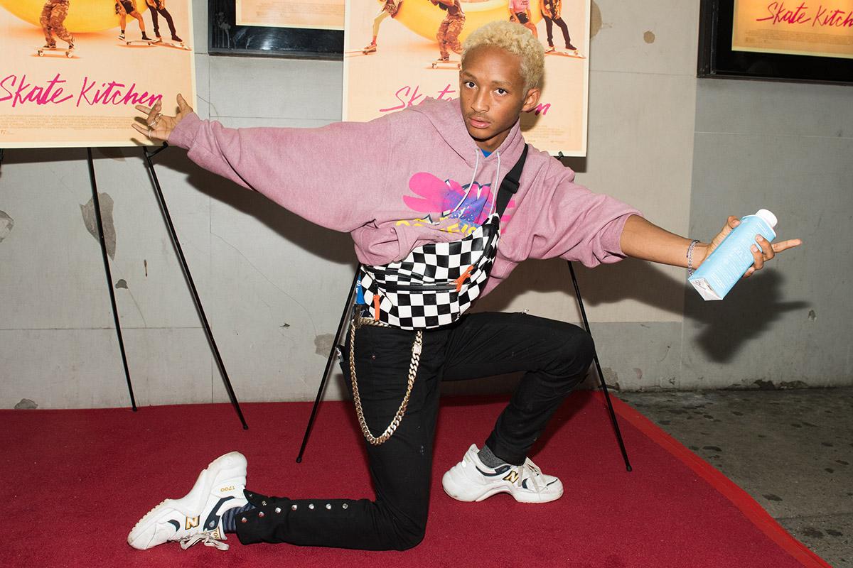 Jaden Smith New Balance x Louis Vuitton Custom