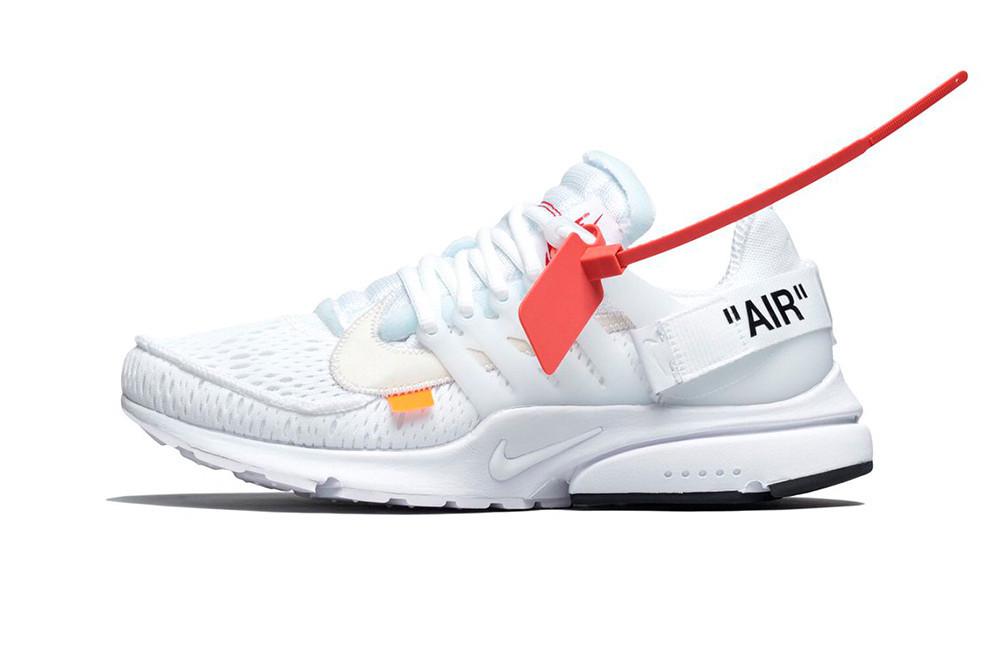 Off-White x Nike All White Presto