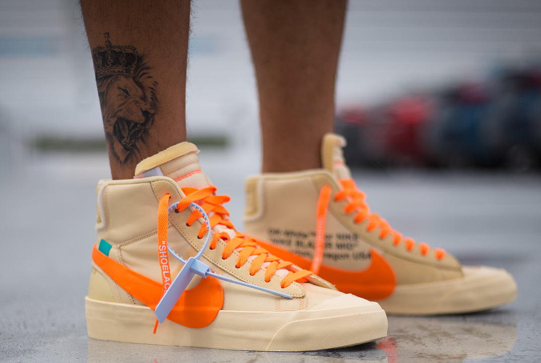 "PAUSE or Skip: Custom Off-White x Nike Blazer ""All Hallows Eve"""