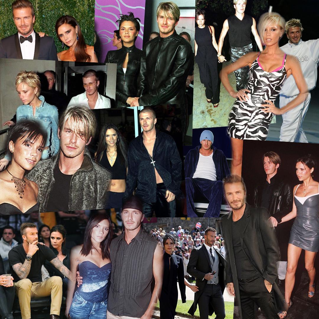 Couple Style: The Evolution of David & Victoria Beckham