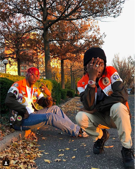 SPOTTED: Lil Yachty & Ian Connor in Dark Comedy