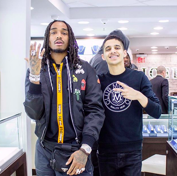 SPOTTED: Quavo and Offset Pit Stop at Ice Box